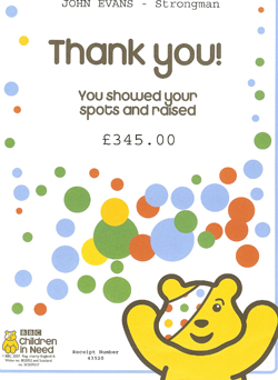 children in need 2010 certificate