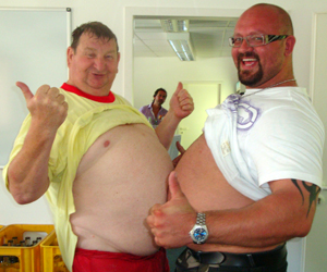 john evans and germany strongman meanz