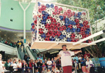 548 Footballs - June 28th 1998 - Weight 335LBS White Rose Centre, Leeds UK